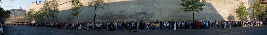 vatikan müzesi giriş bileti kuyruğu