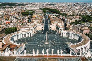 Museen des vatikanischen Staates in Rom, Italien