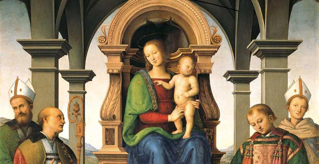 pinturas en museo vaticano
