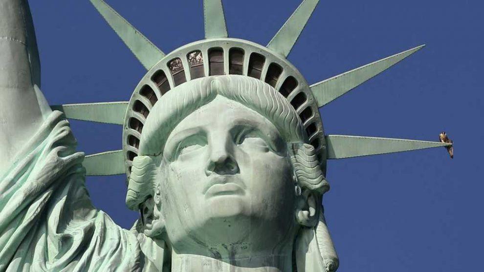 Vstupenky na Sochu Svobody new york