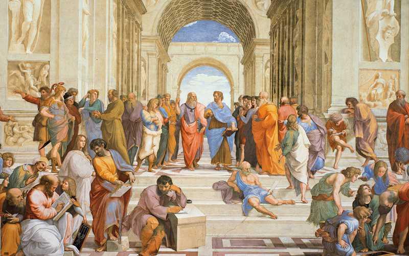 "vatican museum ""The School of Athens"""