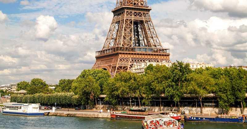 Eiffelturm Nächste U-Bahn, Zug, Bus