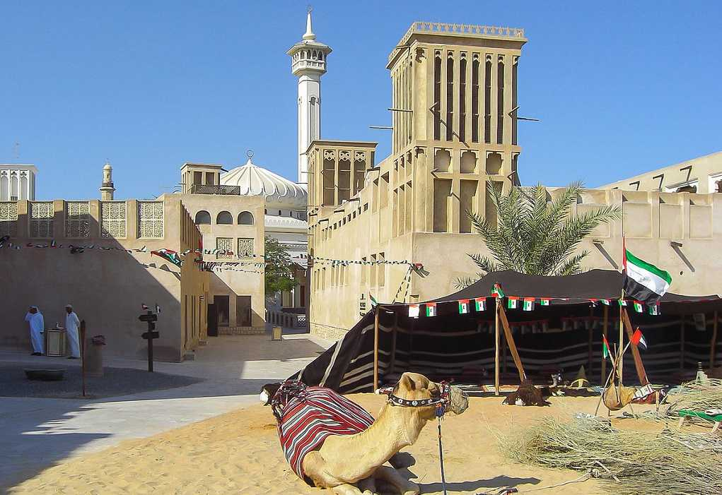 Bastakia, Burj Al Arab, Palm Island, Atlantis Hotel, Dubai Marina, Burj Khalifa